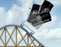 WTI drops below 15 dollars per barrel