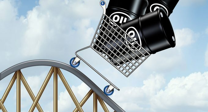There are no more Christmas presents. Brent crude oil prices are falling