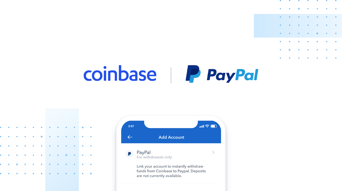 Coinbase Now Accepts Paypal From US Customers